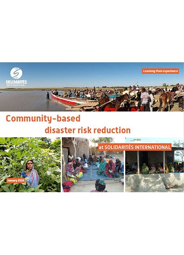 community-based disaster risk reduction