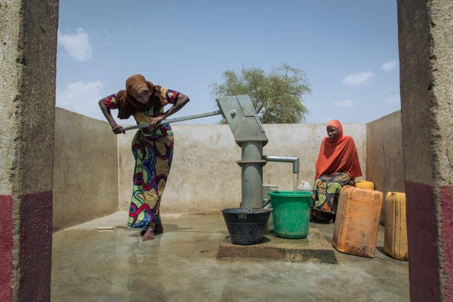 Cameroun eau potable puit