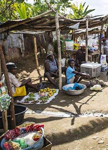 Haïti marché