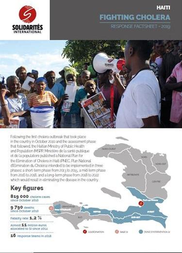 Haiti cholera lutte
