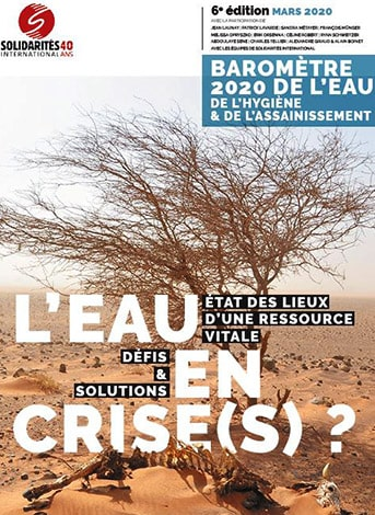 Baromètre de l'eau 2020 - SOLIDARITES INTERNATIONAL