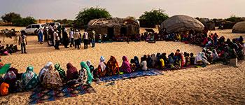 The water sanitation in Mali