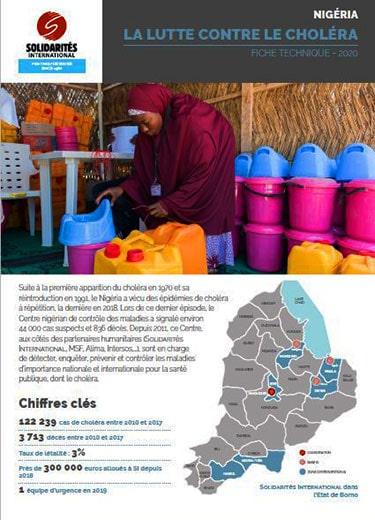La lutte contre le choléra au Nigéria