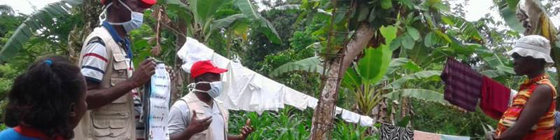 Prévention face au Covid-19 en Haïti