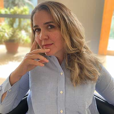 Sonia Rahal, directrice des opérations au Sahel et au Lac Tchad
