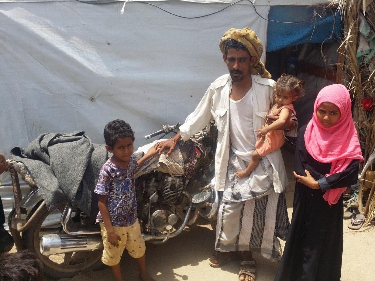 Accès aux ressources financières d'une famille yéménite