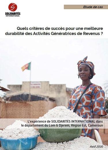 Activités génératrices de revenus au Cameroun