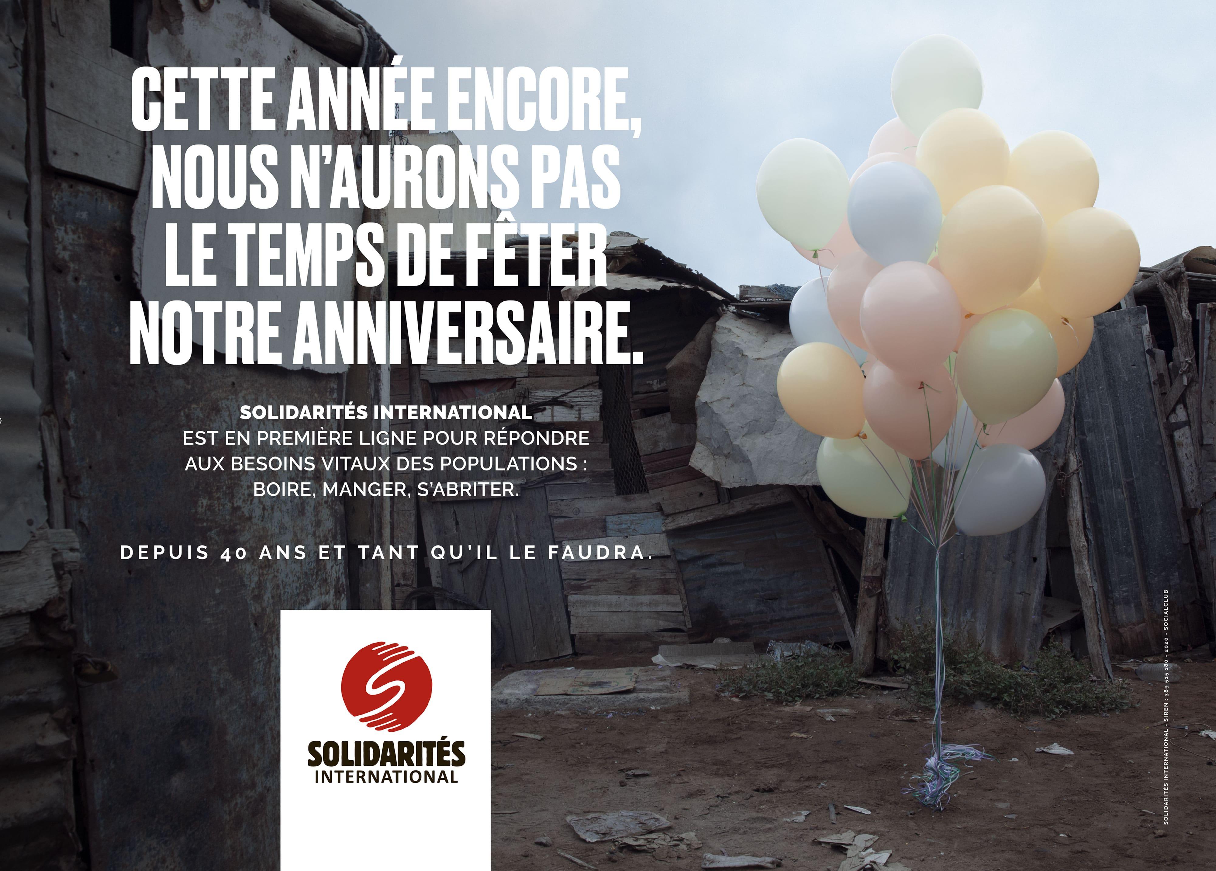 campagne 40 ans bidonville