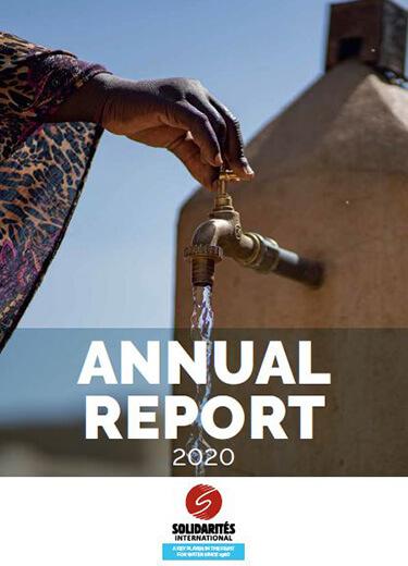 annual report 2020 solidarites international